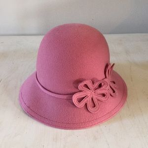 (Loft) Dusty Rose hat